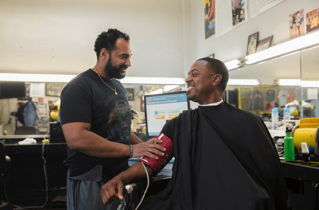 Hypertension Study Based In African-American Barbershops Honored By Clinical Research Forum For Saving Lives