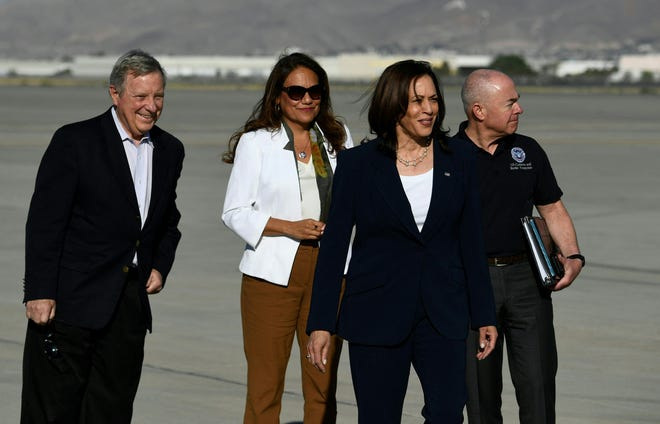 'Deal With The Root Causes': Harris Visits US-Mexico Border After Months Of Pressure On Immigration